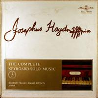 Sandor Falvai and Aniko Szegedi - Haydn: The Complete Keyboard Solo Music 3