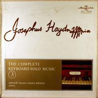 Sandor Falvai and Aniko Szegedi - Haydn: The Complete Keyboard Solo Music 3