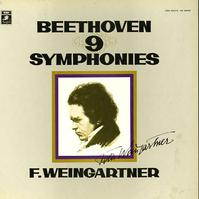 Felix Weingartner - Beethoven: The Nine Symphonies -  Preowned Vinyl Box Sets