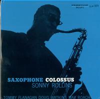 Sonny Rollins-Saxophone Colossus