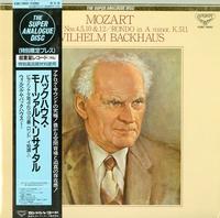 Wilhelm Backhaus-Backhaus Mozart Recital