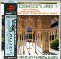 Fruhbeck de Burgos, New Philharmonia Orchestra - Fruhbeck De Burgos: Orchestral Concert