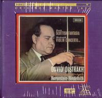 David Oistrakh - Scottish Fantasia / Violin Concerto