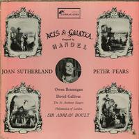 Joan Sutherland, Peter Pears, Sir Adrian Boult, Philomusica of London - Handel: Acis & Galatea -  Preowned Vinyl Box Sets