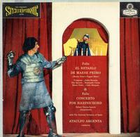 Argenta, Orquesta  Nacional de Espana - Falla: El Retablo etc.