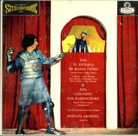 Argenta, Orquesta  Nacional de Espana-Falla: El Retablo etc.