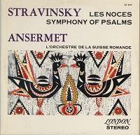 Ansermet, L'orch. De la Suisse Romande - Stravinsky: Les Noces etc.