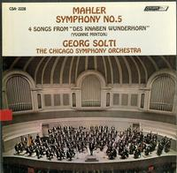 Solti, Chicago Symphony Orchestra - Mahler: Symphony No.5 etc.
