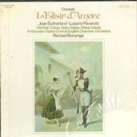 Sutherland, Bonynge, English Chamber Orchestra - Donizetti: L'Elisir d'Amore