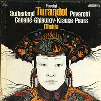 Sutherland, Mehta, London Philharmonic Orchestra - Puccini: Turandot