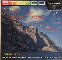 Katin, Davis, LPO - Grieg: Piano Concerto in A Minor etc.