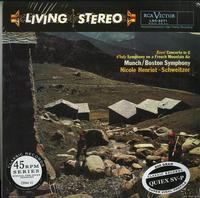 Henriot-Schweitzer, Munch, Boston Symphony Orchestra - Ravel: Concerto in G--d'Indy: Symphony on a French Mountain Air