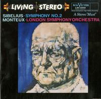 Monteux, London Symphony Orchestra - Sibelius: Symphony No. 2 -  Preowned Vinyl Record