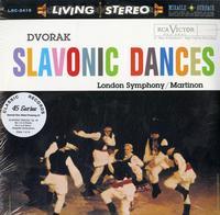 Jean Martinon - Dvorak: Slavonic Dances