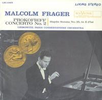 Frager, Leibowitz, Paris Conservatoire Orchestra-Prokofiev: Concerto No. 2 etc.