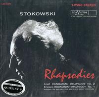 Stokowski, RCA Victor Symphony - Liszt: Hungarian Rhapsody etc.