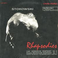 Stokowski, RCA Victor Symphony-Liszt: Hungarian Rhapsody etc.