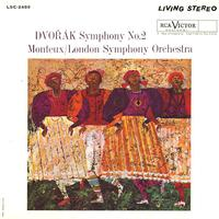 Monteux, London Symphony Orchestra - Dvorak: Symphony No. 2 -  Preowned Vinyl Record