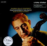Piatigorsky, Munch, Boston Symphony Orchestra - Dvorak Cello Concerto