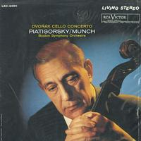 Piatigorsky, Munch, Boston Symphony Orchestra - Dvorak: Cello Concerto in B minor -  Sealed Out-of-Print Vinyl Record