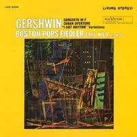 Wild, Fiedler, Boston Pops - Gershwin: Concerto in F/ Cuban Overture