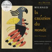 Munch, Boston Symphony Orchestra - Milhaud: La Creation du Monde -  Preowned Vinyl Record