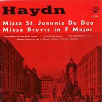 Heusser, Gillesberger, Akademie Kammerchor and the Chamber Orchestra of the Vienna Symphony - Haydn: Missa St. Joannis De Deo etc.