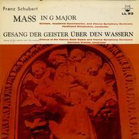Grossmann, Krauss, Vienna Symphony Orchestra - Schubert: Mass in GMaj, Gesang Der Geister Uber Den Wassern