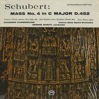 Barati,Akademie Kammerchor, and the Vienna State Opera Orchestra - Schubert: Mass No.4