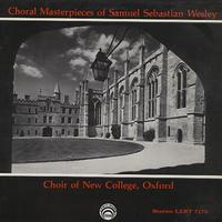 Choir of New College, Oxford - Choral Masterpieces of Samuel Sebastian Wesley