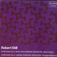 Fredman, Royal Philharmonic Orchestra, Gooseens, London Symphony Orchestra - Still: Symphony No. 4, Syphony No. 3