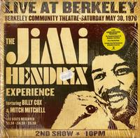 The Jimi Hendrix Experience - Live at Berkeley / May 30th, 1970