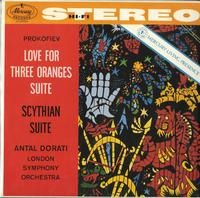 Antal Dorati/London Symphony Orchestra - Prokofiev: Love For Three Oranges Suite--Scythian Suite