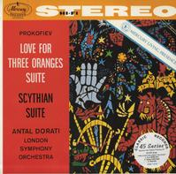 Antal Dorati/London Symphony Orchestra - Prokofiev: Love For Three Oranges Suite etc.