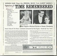 Original Cast Recording - Time Remembered