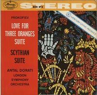 Antal Dorati/London Symphony Orchestra - Prokofiev: Scythian Suite etc