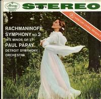 Paul Paray/Detroit Symphony Orchestra-Rachmaninoff: Symphony No.2 in Em, Op. 27
