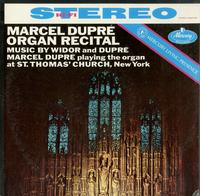 Marcel Dupre-Marcel Dupre Organ Recital