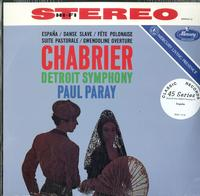 Paul Paray/Detroit Symphony Orchestra - Paray Conducts The Music Of Chabrier