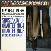 Borodin String Quartet-Shostakovich Quartets No. 4 and 8