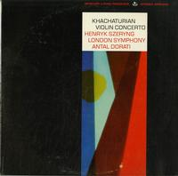 Henryk Szeryng-Khachaturian Violin Concerto
