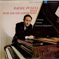 Rafael Puyana - Soler: Music for Harpsichord