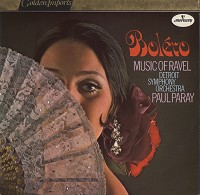 Paul Paray/Detroit Symphony Orchestra - Bolero, Music Of Ravel