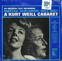 Original Cast Recording - A Kurt Weill Cabaret