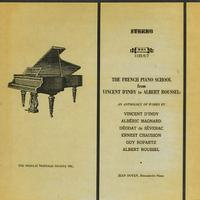 Jean Doyen - The French Piano School from Vincent D'Indy to Albert Roussel