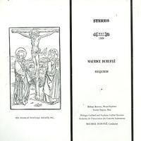 Bouvier, Durufle, Orchestre de l'Association des Concerts Lamoureux - Durufle: Requiem