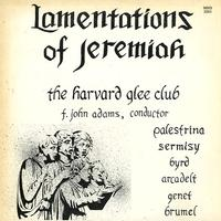 F. John Adams - Lamentations of Jeremiah