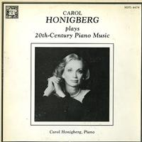 Carol Honigberg - 20th Century Piano Music