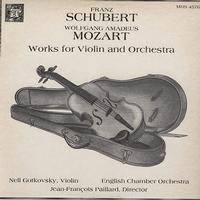 Gotkovsky, Paillard, English Chamber Orchestra - Schubert, Mozart: Works for Violin and Orchestra