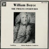 Adrian Shepherd, Cantilena - Boyce: The Twelve Overtures